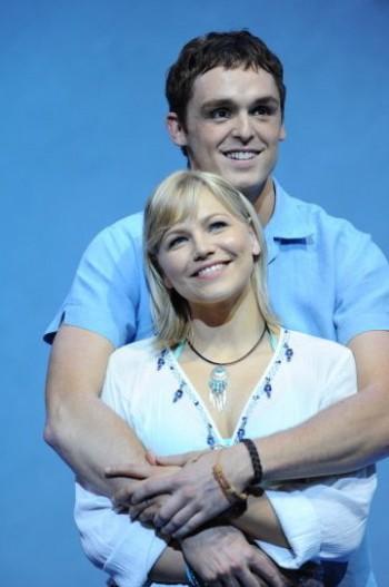 David Somerville and Suzie Mathers in Mamma Mia!