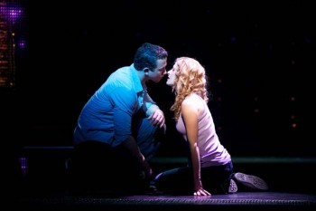 Richard Fleeshman and Cassie Levy (original London and Broadway cast) in Ghost the Musical