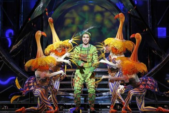 The Magic Flute. Andrew Jones as Papageno.Photo by Jeff Busby.