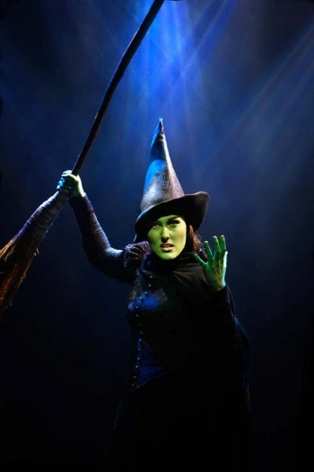 Jemma Rix as Elphaba in Wicked