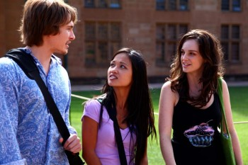 Andrew Hazzard, Nammi Le and Penny McNamee in Careless Love