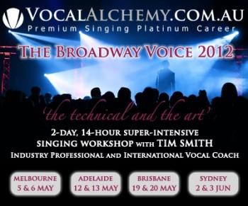 Vocal Alchemy - Broadway Voice Workshop