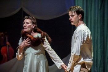 Jacqy Phillips and Thomas Conroy in  Brink Productions' Land and Sea