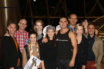 Casts of Wicked and Officer and a Gentleman. Image by Matt Edwards