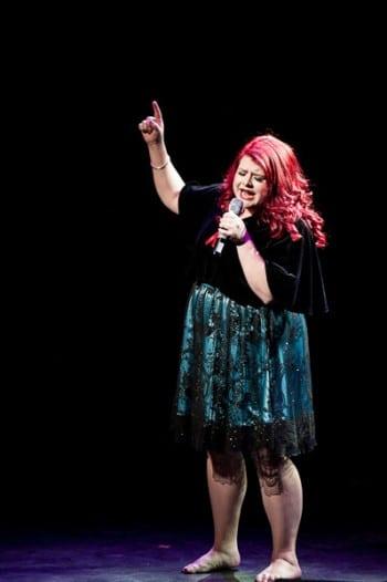 Melissa Bergland at Twisted Broadway Sydney. Image by Blueprint Studios