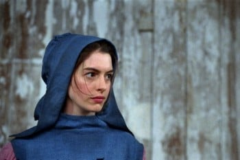 "This film image released by Universal Pictures shows Anne Hathaway as Fantine in a scene from ""Les Miserables."" (AP Photo/Universal Pictures)(Credit: AP)"
