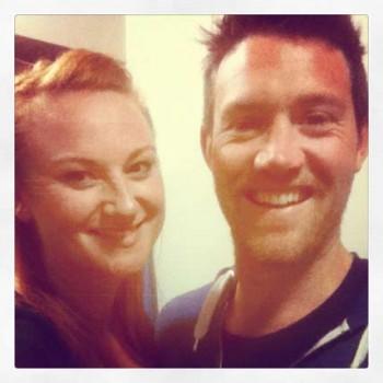 Marika Aubrey and Eddie Perfect