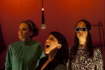 Dana Miltins, Mary Helen Sassman, Emily Milledge. The Rabble, Frankenstein
