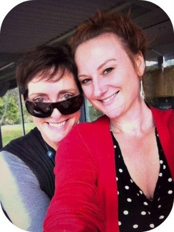 Anne Looby and Marika Aubrey