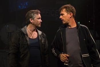 Ian Stenlake and Scott Irwin. Photo by Noni Carroll.