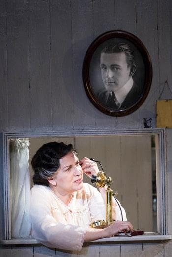 Pamela Rabe in The Glass Menagerie. Photo by Brett Boardman.