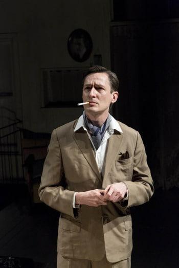 Luke Mullins in The Glass Menagerie. Photo by Brett Boardman.