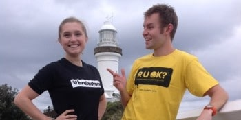 Brainstorm and RUOK? join forces.