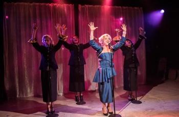Esther Hannaford, Blazey Best, Marika Aubrey and Josie Lane. Image by Kurt Sneddon