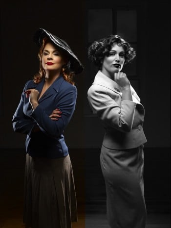Chelsea Plumley and Amanda Harrison will star in City of Angels. Image by Colin Page Photography