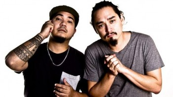 James Mangohig and Joel Ma in In Between Two