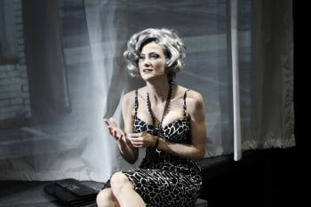 Esther Hannaford as Audrey. Photo by Jeff Busby.