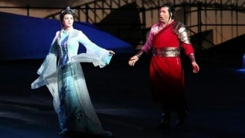 Turandot on the Harbour. Photo by Prudence Upton.