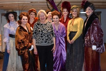 Female ensemble cast of My Fair Lady with
