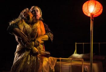 a streetcar d desire rides into la boite reviews bridie carter as blanche dubois photography jeff busby