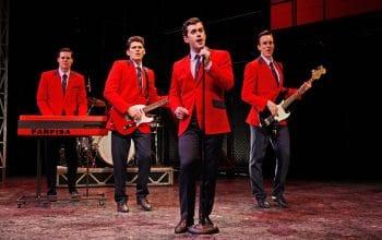 The original Australian cast of Jersey Boys | Photo by Jeff Busby