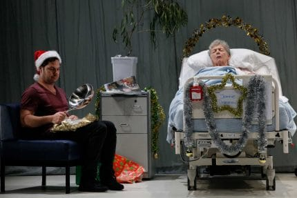 Jason Klarwein and Penny Everingham in Once in a Royal David's City. Photography by Philip Gostelow.
