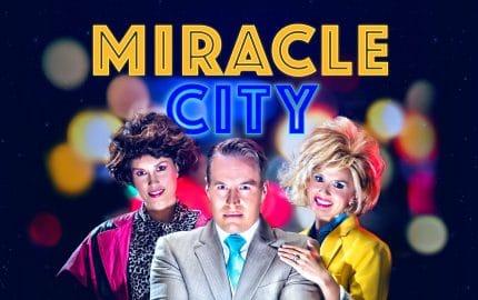 Missy Higgins as Bonnie May, Gus Murray as Ricky, Kellie Rode as Lora Lee. Image by Daniel Linnet