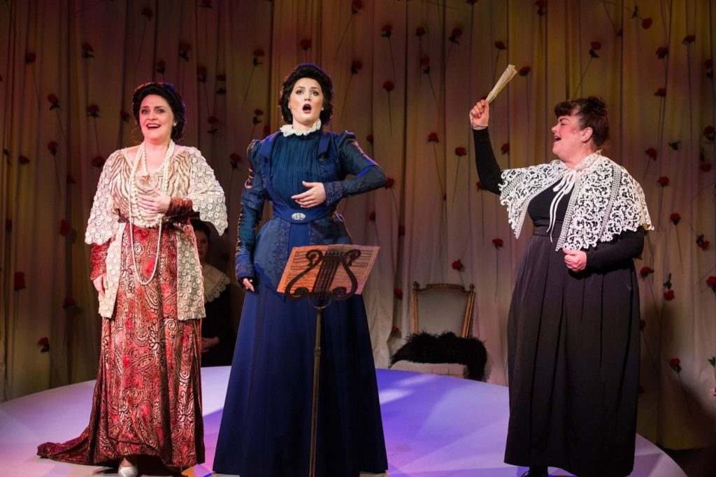 Emma Matthews, Annie Aitken and Genevieve Lemon in Melba