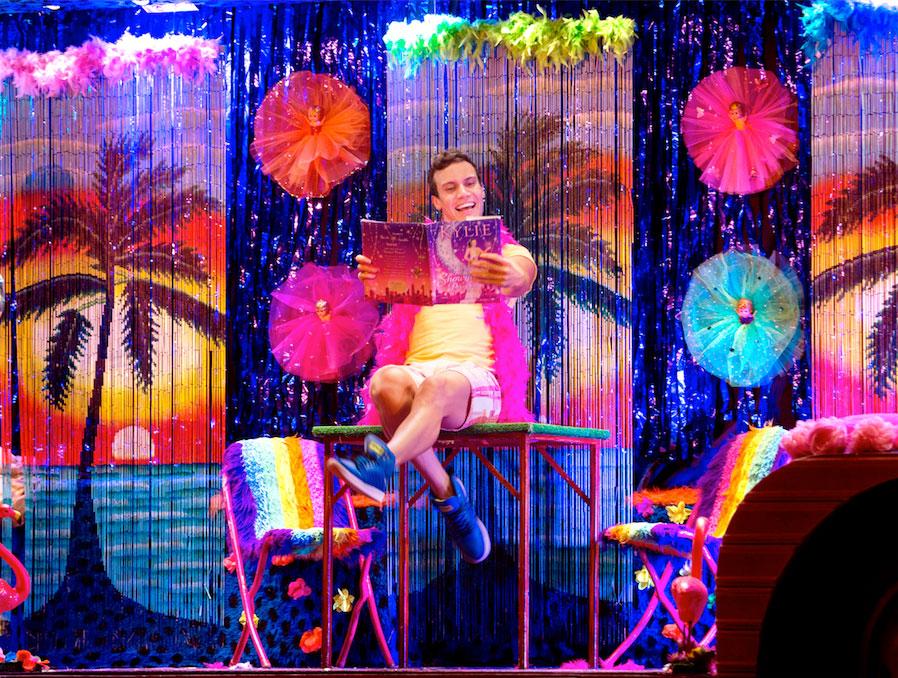 Euan Doidge as Adam in Priscilla the Musical