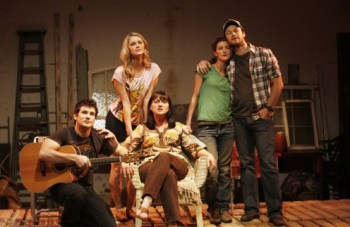 The cast of Once We Lived Here