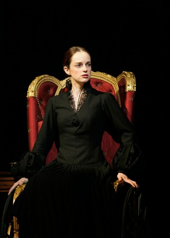 Penny McNamee as Nessarose in Wicked
