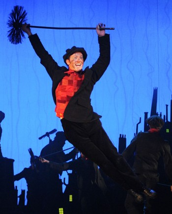 Matt Lee as Bert in Mary Poppins - Photographer David Wyatt