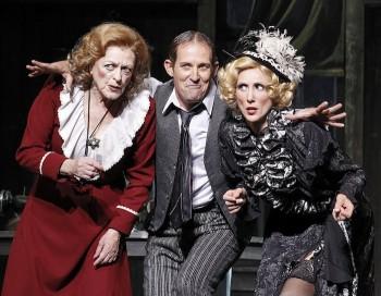 Nancye Hayes, Todd McKenney, Chloe Dallimore in Annie 2012.