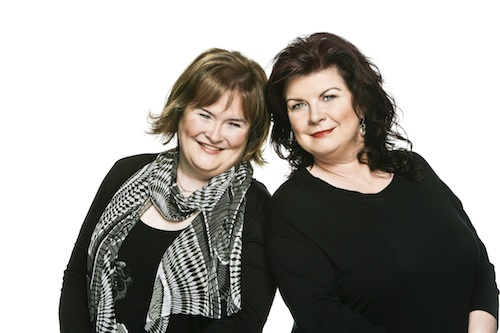 Susan Boyle and Elaine Smith