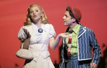 Wicked original cast members Lucy Durack and Anthony Callea
