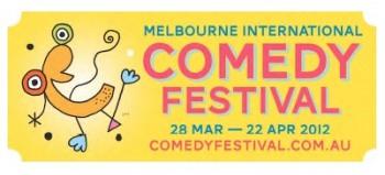 Melbourne International Comedy Festival 2012 Logo