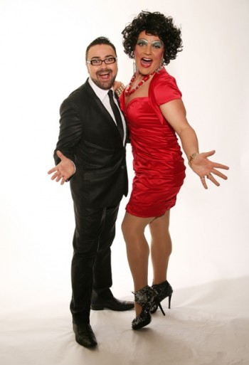 Dolly Diamond and Luke Gallagher