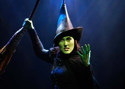 Jemma Rix as Elphaba in Wicked