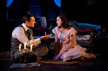 Nic English and Kate Cheel in The Glass Menagerie. Image by Matt Nettheim