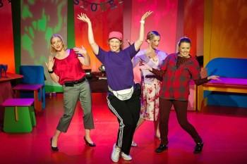 2012 Cast of Motherhood the Musical