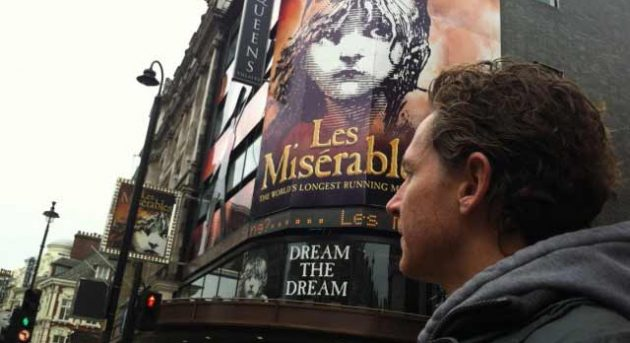 David Harris Les Mis London