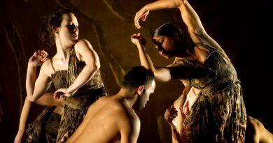 Bangarra Dance Theatre's Terrain. Photographer David Wyatt