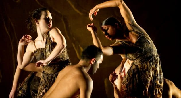 Bangarra Dance Theatre's Terrain. Photographer David Wyatt