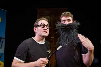 Gary Trainor and Jesse Briton in Potted Potter