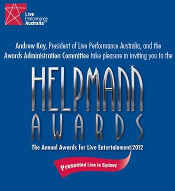 Helpmann Awards 2012 - Nominations