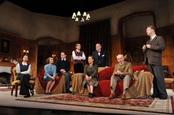 Australian Cast of The Mousetrap. Image by Jim Lee