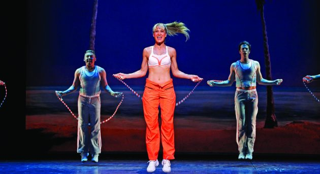 Erika Heynatz in LEGALLY BLONDE. Image by Jeff Busby