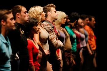 Australian Cast of A Chorus Line in Perth. Image by RobKellyPhoto.com.au