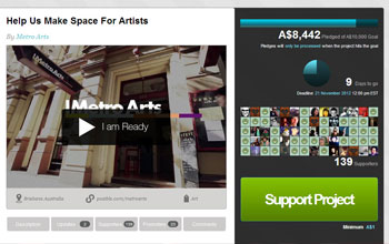Make Space For Artists - Metro Arts