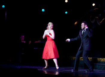 Lucy Durack and Chris Horsey